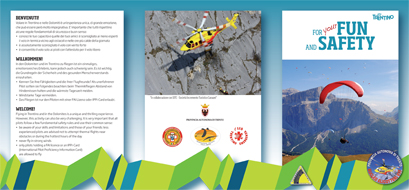 Brochure Sicurezza Volo in Trentino