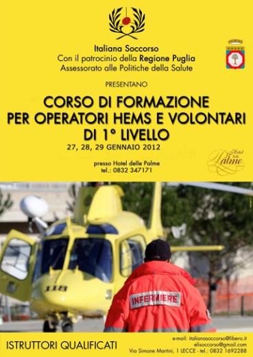 Brochure Convegno Operatori HEMS