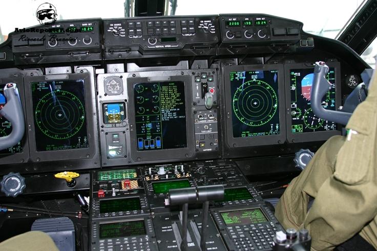 C-27J Spartan cockpit