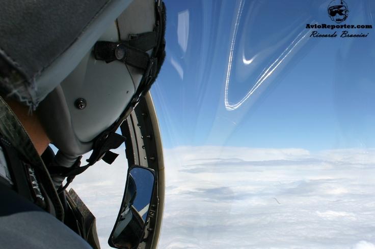 Cockpit View Saab 105 OE VIP