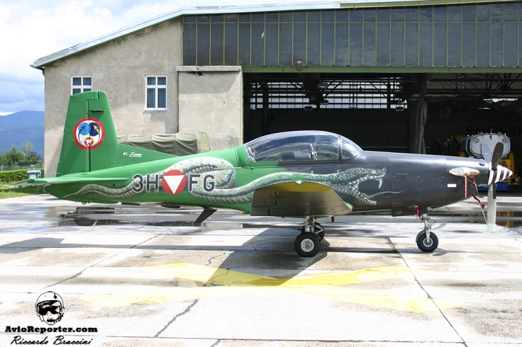 PC-7 Austrian Air Force Special Colour