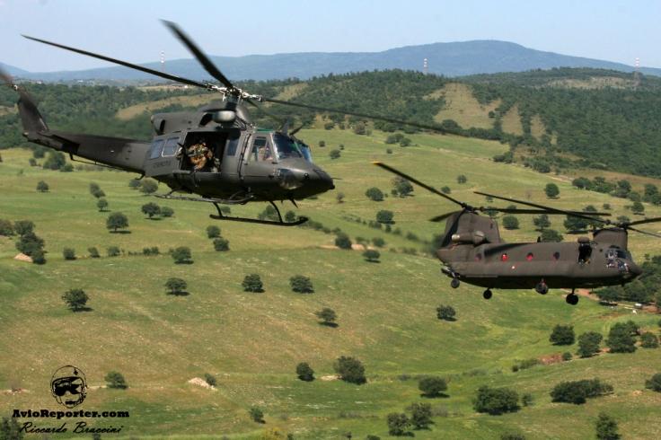 CH-47C + AB-412